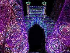 バレンシア火祭りイルミネーション2