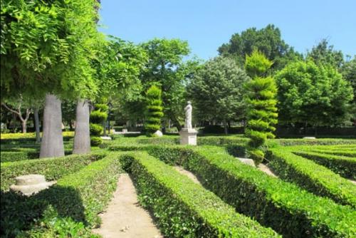 バレンシア市内の憩いの場、Jardines del Real Viveros