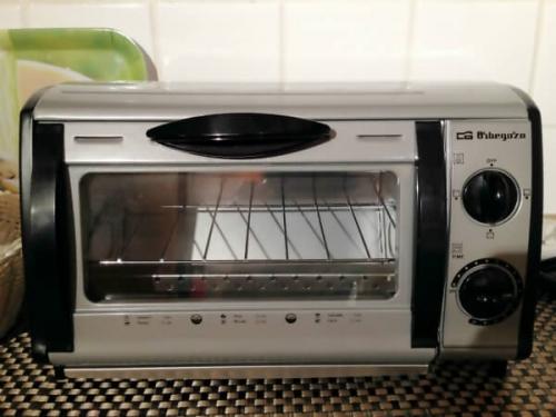 スペインで買った貴重な横型トースター