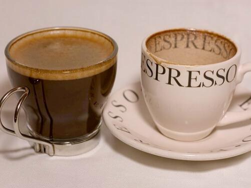 これぞ通常のコーヒー(エスプレッソ)