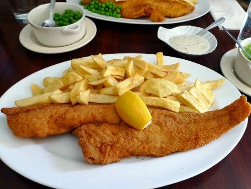 イギリス料理と言えばやっぱりフィッシュ&チップス!