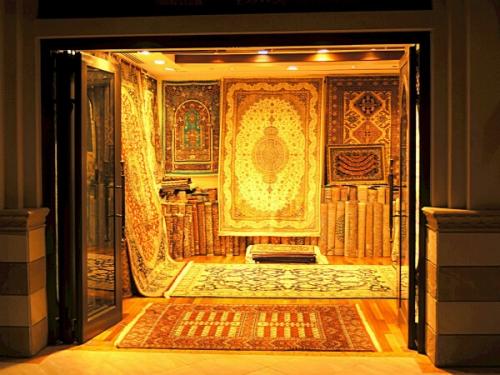 アラブ風カーペットもお土産にできます