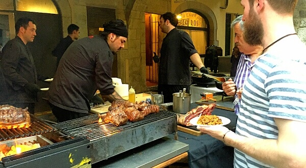 ジローナのフードフェスティバル:1