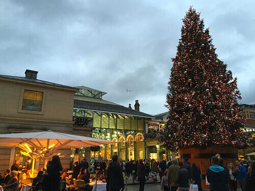 Covent Gardenのクリスマス・マーケット:1