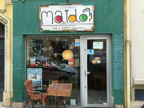 Maïdoの店舗外観